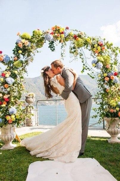 Свадьба в августе фото