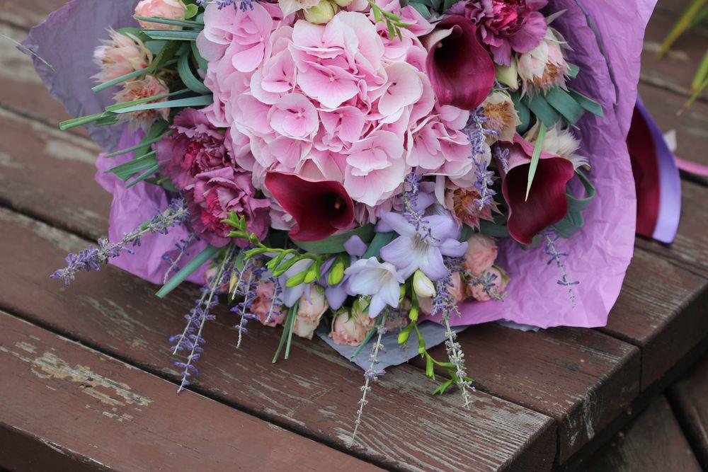 Акции на цветы фото